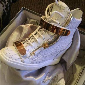 Guiseppe Zanotti wedge sneaker
